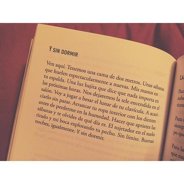 Y sin dormir.. #defreds #cuandoabraselparacaídas #poesia #libros