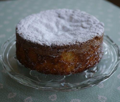 Dairy and Gluten Free Lemon Chiffon Cake