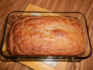 Coconut Flour Banana Bread. I've made this several times, and it is soooo good.