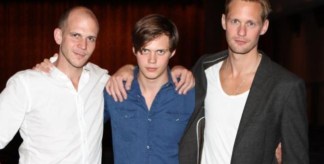 Gustaf, Bill and Alexander Skarsgard