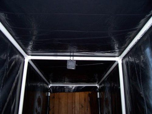 17 best images about haunt walls tunnels on pinterest for Diy haunted house walls