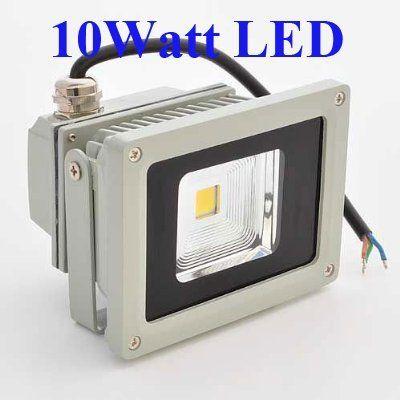 10 watt led waterpoof outdoor security floodlight 50w halogen equivalent by loftek http www. Black Bedroom Furniture Sets. Home Design Ideas