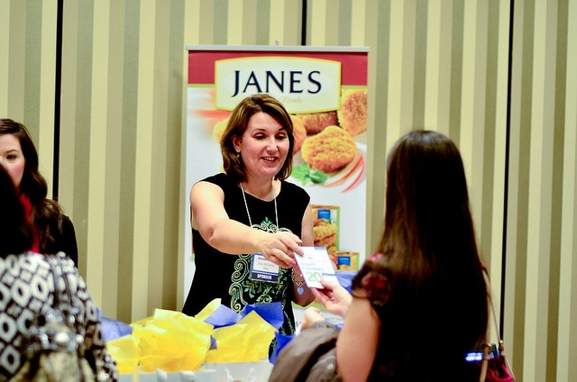 @janesfoods booth!