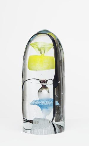 Lily  Oiva Toikka  2012  33 x 15 cm  Hand blown glass  GF 6151