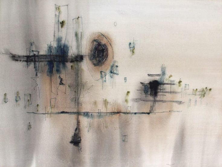 William Newcombe, Island Reflections, 1964, watercolour