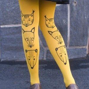 Toteemieläin-sukkahousut by Mary A. Jalava