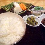 分とく山 - 料理写真:9品目 土鍋ご飯&味噌汁