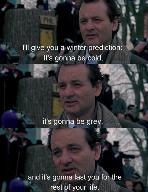 Happy Groundhogs Day via /r/funny...