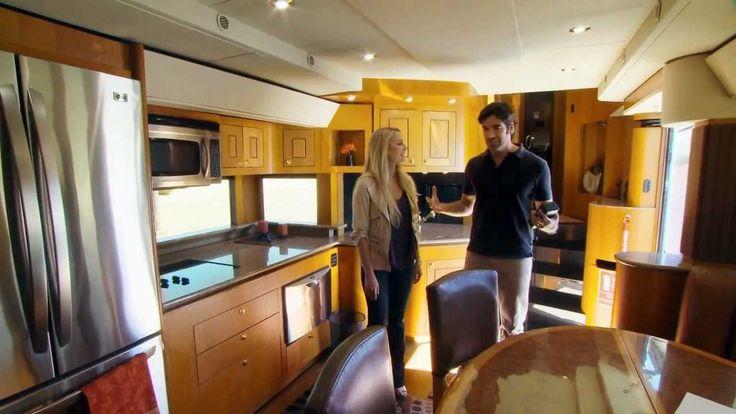 HGTVs Celebrity Motor Homes (Will Smith 2 Story Trailer), via YouTube.