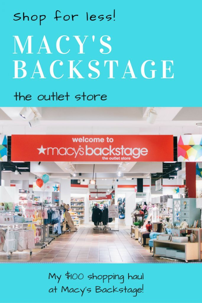 Good Life Detroit | Macy's Backstage Opening Three Metro Detroit Outlet Stores | http://goodlifedetroit.com