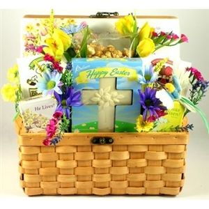 93 best easter gifts and spring gift ideas images on pinterest easter blessings gift basket negle Image collections