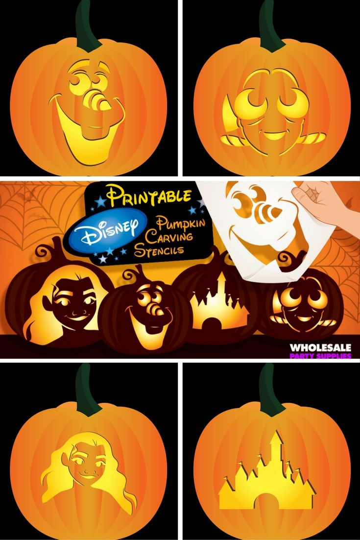 Best disney pumpkin stencils ideas only on pinterest
