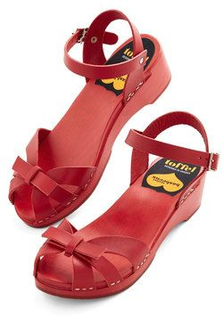 Your Cheerful Nature Heel in Cherry