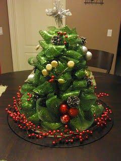 Ötletes Blog: Dekorszalagból karácsonyfa