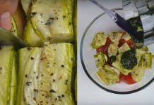 Вот как нужно готовить салат с кабачками… Эта заправка свела меня с ума!