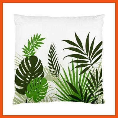 Tropical Leaves Cushion