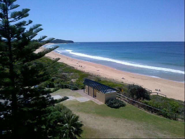 Narrabeen Beach in Narrabeen, NSW