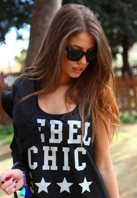#RebelChic Star #ChiaraNasti in #Lollystars