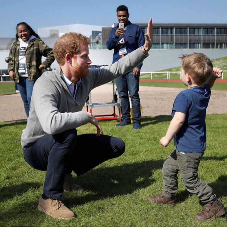 """270 Likes, 3 Comments - HELLO! Canada Magazine (@hellocanadamag) on Instagram: """"Prince Harry made a little pal at the UK trials for the Invictus Games, but his new friend took a…"""""""