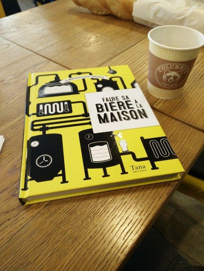 Livre Faire sa bière à la maison – La Montreuilloise via @HappyBeerTime