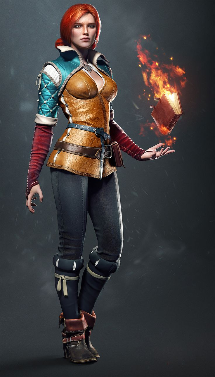 Triss Merigold - The Witcher Wiki  https://www.facebook.com/Gamers-Interest-188181998317382/