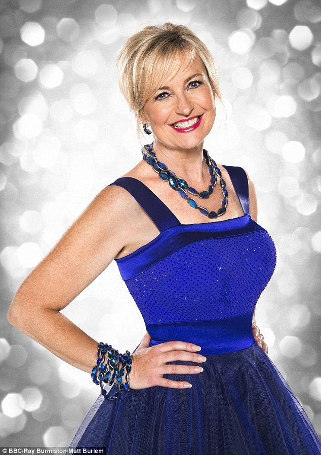 No clouds: BBC weather presenter Carol Kirkwood, 52, has said her dancing abilities are not up to scratch