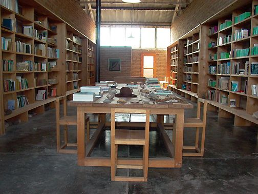 donald judd library
