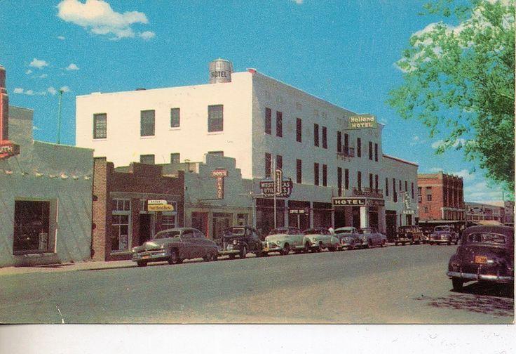 Alpine, Texas: The Holland Hotel post card - eBay