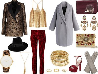 http://s-fashion-avenue.blogspot.it/2016/12/looks-new-years-eve-outfits.html #style #chic #fashion #winter #trend #look