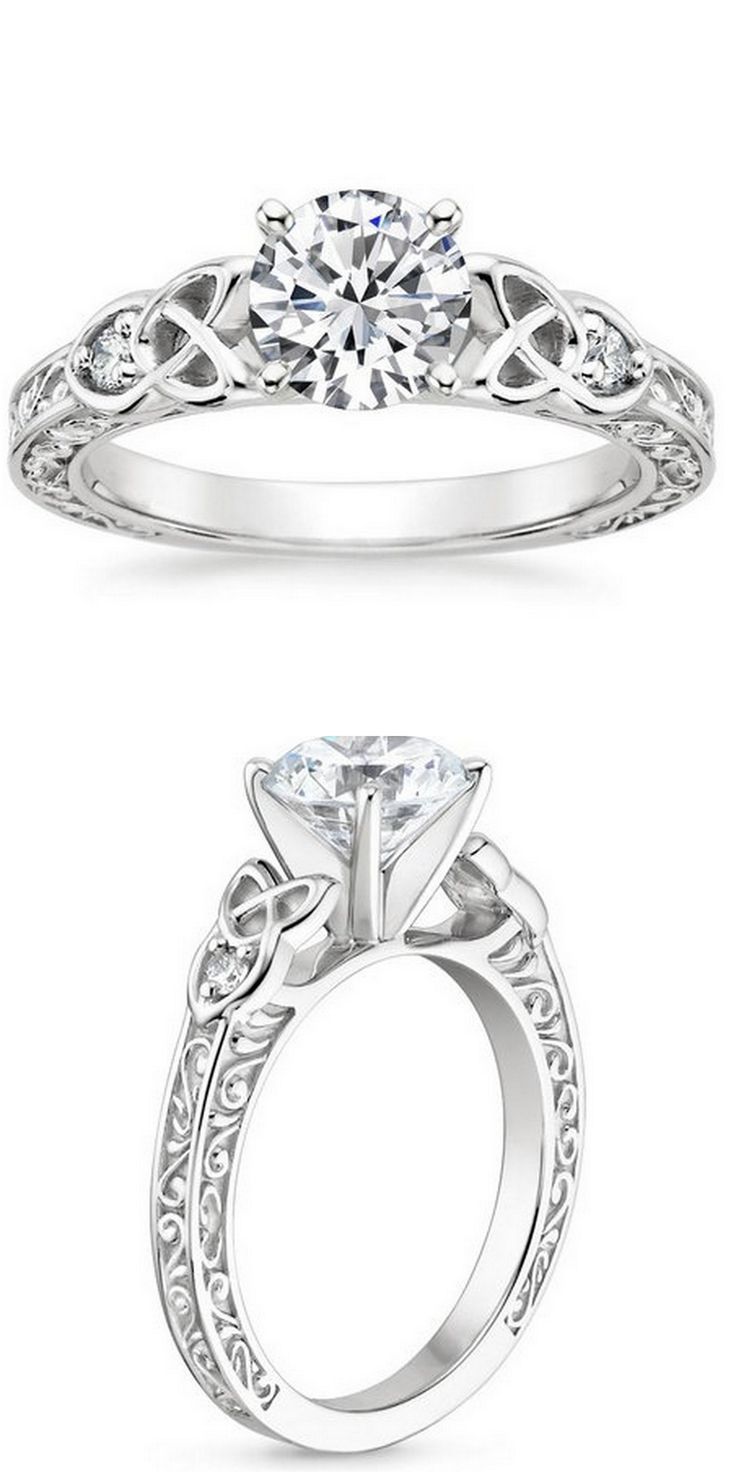 best 25+ celtic wedding rings ideas on pinterest | celtic
