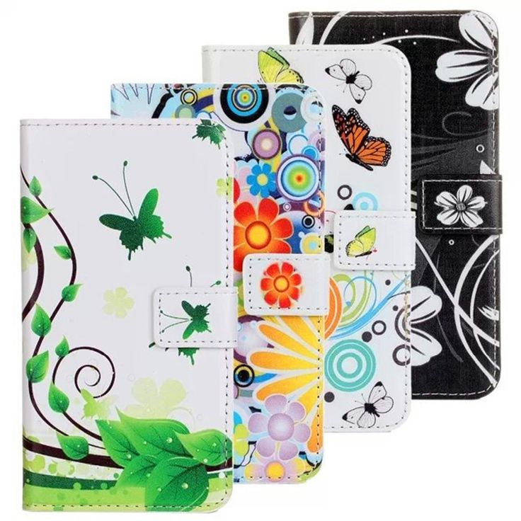 Cute Cartoon butterfly Leather For Samsung S5 Flip Cover For Samsung Galaxy S5 Case Wallet I9600 Original Phone Accessories Digital Guru Shop