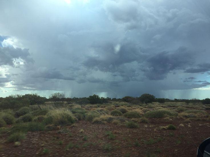 Rain in the Pilbara