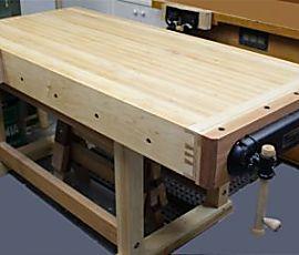 Chapas de madera sólida como una roca Banco - carpintería fina artículo