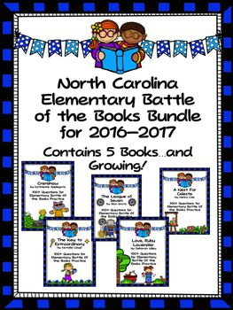 Elementary battle of the books list 2016