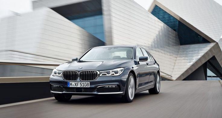 El BMW Serie 7 será el primero en estrenar motor diésel con cuatro turbos - http://www.actualidadmotor.com/bmw-serie-7-motor-diesel-cuatro-turbos/