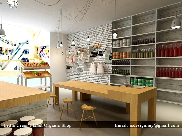 IS DESIGN SOLUTION: Little Green Planet Organic Shop