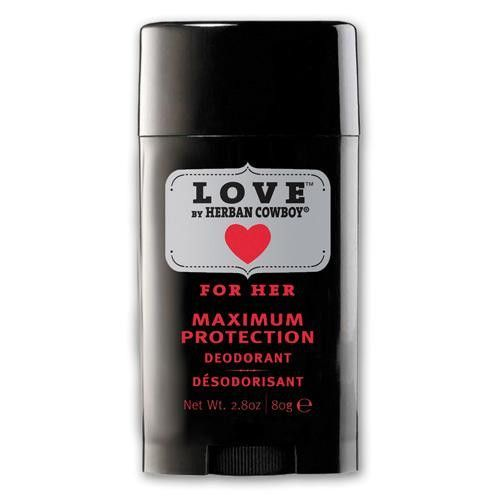 Herban Cowboy Deodorant - Love Maximum Protection - 2.8 Oz