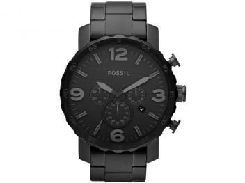 Relógio Masculino Fossil FJR1401/Z - Analógico Resistente à Água Cronógrafo Calendário