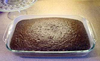 I have made this several times and it is by far the best chocolate cake I've had.  Just remember it is a  ONE-LAYER cake so don't try to make it two.
