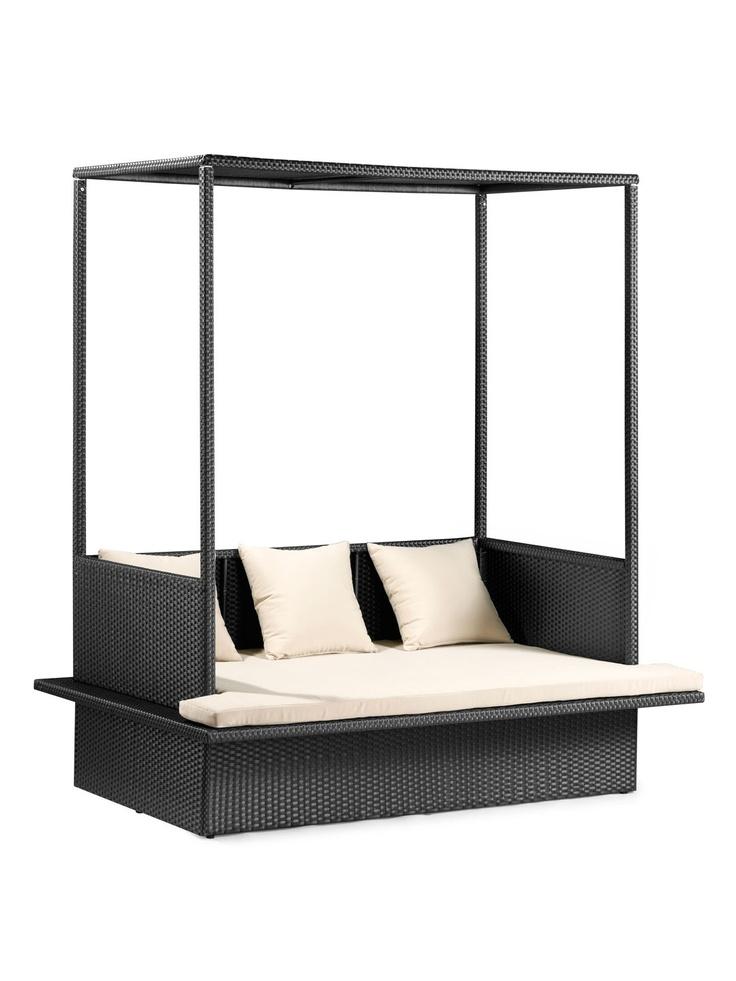 Maui Bed - Gilt Home: Decor, Outdoor Beds, Sheer Curtains, Outdoor Living, Maui Beds, Outdoor Events, Products, Maui Outdoor, Zuo Maui