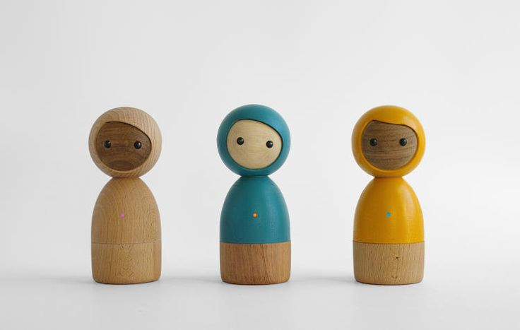 6 | Kids Can Play Together Without A Screen Using These Smart Wooden Dolls | Co.Design | business + design
