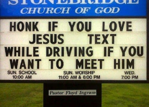 Text to meat Jesus funny-clean