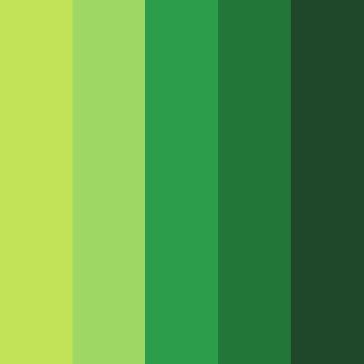 Peaceful Undergrowth Color Palette in 2020 | Color palette ...