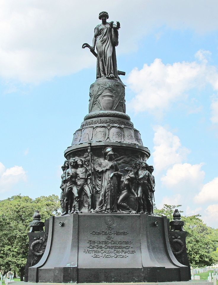 The Confederate Memorial is a memorial in Arlington National Cemetery in Arlington County, Virginia, in the United States, that commemorates members of the armed forces of the Confederate States of America who died during the American Civil War.