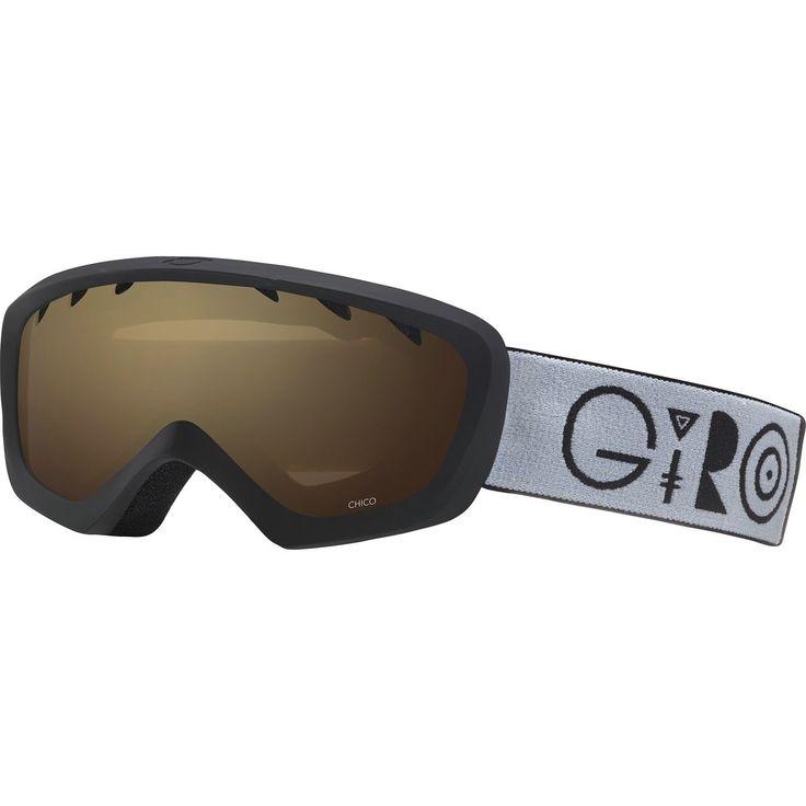 Giro Chico Goggle Little Kids Black Geo/Amber Rose One Size