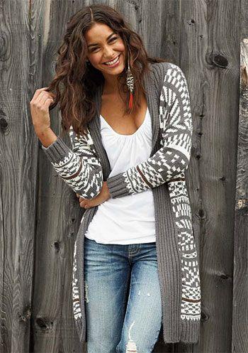 love this sweater! #gray #winter