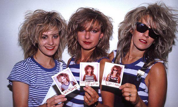 Bananarama in 1986. Siobhan Fahey, Keren Woodward and Sara Dallin. Photograph: Ilpo Musto/Rex/Shutterstock