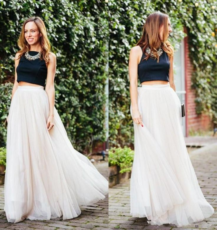1000  ide tentang Long A Line Skirt di Pinterest | Rok panjang