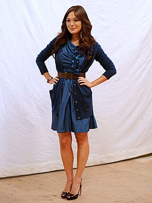 make a dress a little more sophisticated with a cardigan... love this look.
