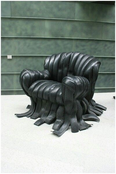 Pfeifer Thompson Creative - Join the Big Picture - Motor Tyre chairs at theKUMU